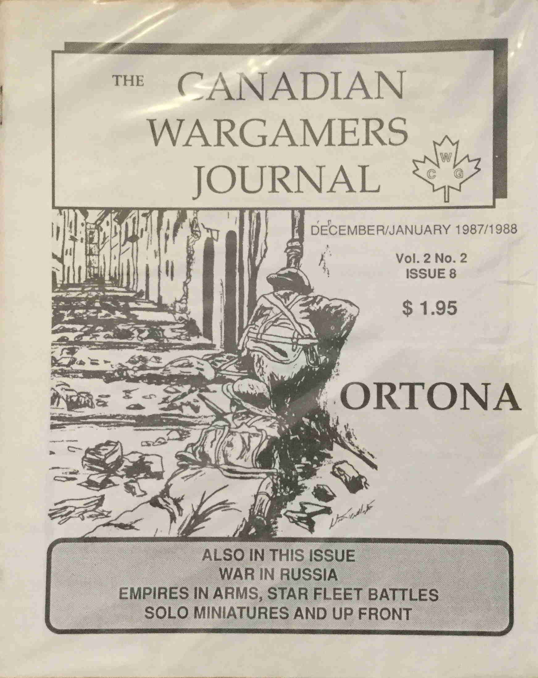 Magazines : The Canadian Wargamers Journal